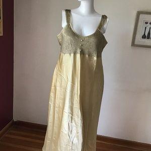 Other - NWOT silky sleeping dress- Free in bundle of $70